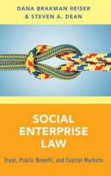 Omslag - Social Enterprise Law