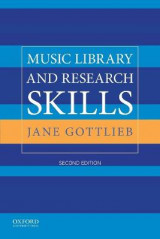 Omslag - Music Library and Research Skills