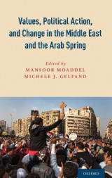 Omslag - Values, Political Action, and Change in the Middle East and the Arab Spring