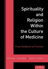 Omslag - Spirituality and Religion Within the Culture of Medicine