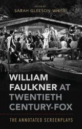 Omslag - William Faulkner at Twentieth Century-Fox