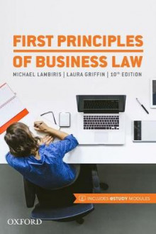 First Principles of Business Law av Michael Lambiris og Laura Griffin (Heftet)