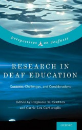 Omslag - Research in Deaf Education
