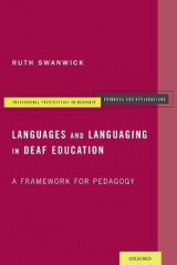 Omslag - Languages and Languaging in Deaf Education
