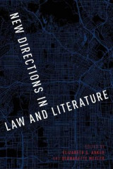 Omslag - New Directions in Law and Literature