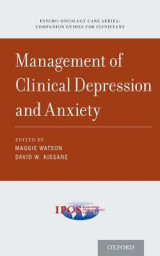 Omslag - Management of Clinical Depression and Anxiety
