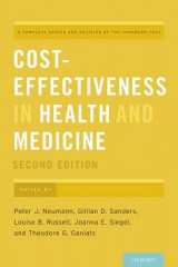 Omslag - Cost-Effectiveness in Health and Medicine