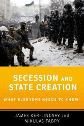 Secession and State Creation av Mikulas Fabry og James Ker-Lindsay (Heftet)
