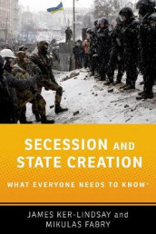 Secession and State Creation av Mikulas Fabry og James Ker-Lindsay (Innbundet)
