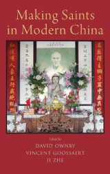 Omslag - Making Saints in Modern China