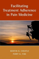 Omslag - Facilitating Treatment Adherence in Pain Medicine