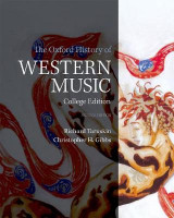 Omslag - The Oxford History of Western Music