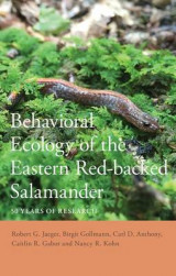 Omslag - Behavioral Ecology of the Eastern Red-Backed Salamander