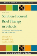 Omslag - Solution-Focused Brief Therapy in Schools