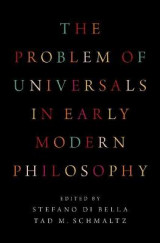 Omslag - The Problem of Universals in Early Modern Philosophy