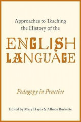 Omslag - Approaches to Teaching the History of the English Language