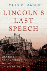 Omslag - Lincoln's Last Speech