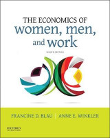 Omslag - The Economics of Women, Men, and Work