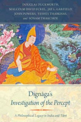 Omslag - Dignaga's Investigation of the Percept