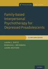 Omslag - Family-based Interpersonal Psychotherapy for Depressed Preadolescents