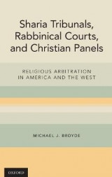 Omslag - Sharia Tribunals, Rabbinical Courts, and Christian Panels