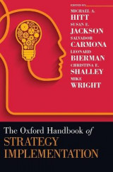 Omslag - The Oxford Handbook of Strategy Implementation