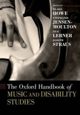 Omslag - The Oxford Handbook of Music and Disability Studies
