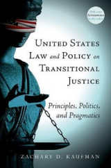 Omslag - United States Law and Policy on Transitional Justice
