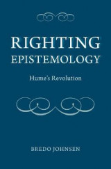 Omslag - Righting Epistemology