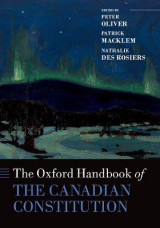 Omslag - The Oxford Handbook of the Canadian Constitution