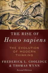 Omslag - The Rise of Homo Sapiens: The Evolution of Modern Thinking