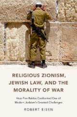 Omslag - Religious Zionism, Jewish Law, and the Morality of War