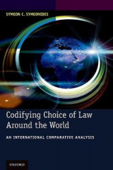 Omslag - Codifying Choice of Law Around the World