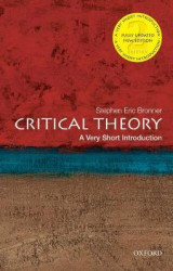 Omslag - Critical Theory: A Very Short Introduction