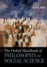Omslag - The Oxford Handbook of Philosophy of Social Science