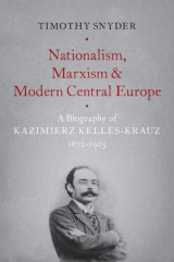 Omslag - Nationalism, Marxism, and Modern Central Europe