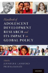 Omslag - Handbook of Adolescent Development Research and Its Impact on Global Policy
