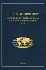 Omslag - The Global Community Yearbook Of International Law and Jurisprudence 2016