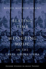 Omslag - Beating Time & Measuring Music in the Early Modern Era