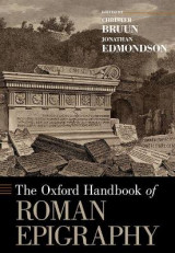 Omslag - The Oxford Handbook of Roman Epigraphy