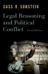 Omslag - Legal Reasoning and Political Conflict