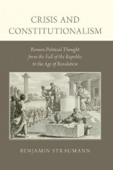 Omslag - Crisis and Constitutionalism