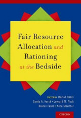 Omslag - Fair Resource Allocation and Rationing at the Bedside