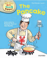 Omslag - Oxford Reading Tree Read with Biff, Chip and Kipper: First Stories: Level 1: The Pancake