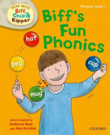 Omslag - Oxford Reading Tree Read with Biff, Chip and Kipper: First Stories: Level 1: Biff's Fun Phonics