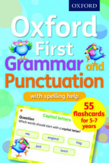Omslag - Oxford First Grammar and Punctuation Flashcards