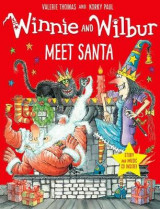 Omslag - Winnie and Wilbur Meet Santa with audio CD