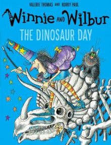 Winnie and Wilbur: The Dinosaur Day av Valerie Thomas (Heftet)