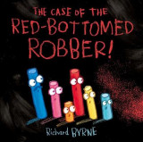 Omslag - The Case of the Red-Bottomed Robber