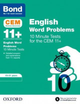 Omslag - BOND 11+: CEM English Word Problems 10 Minute Tests: